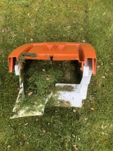 Grass box full