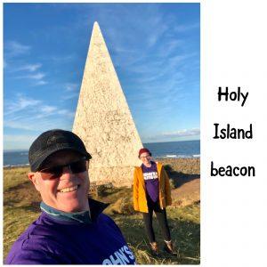 Holy Island beacon