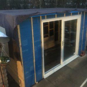 shed roof felt liner