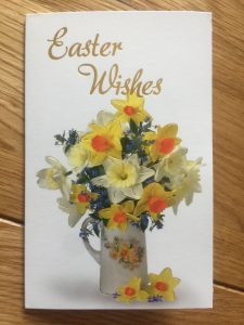 Daffodil - Easter wishes