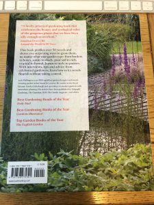 Wild About Weeds rear cover - book review