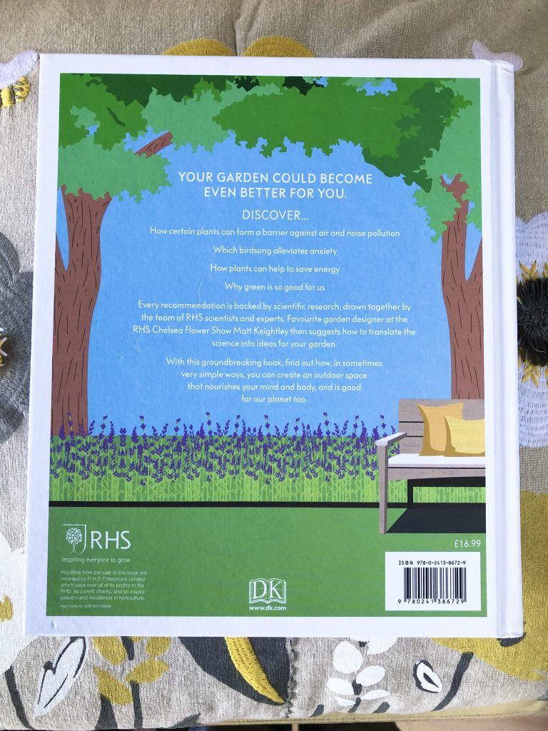 Your Wellbeing Garden - rear cover