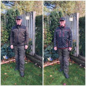 Pfanner clothing - side by side