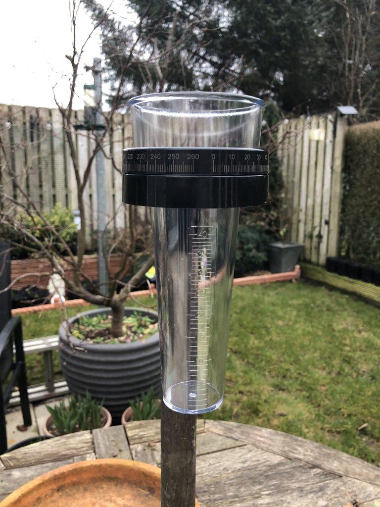 East Kilbride - Rainfall data
