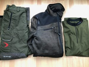 Pfanner highlighting Inuit Jacket colour difference