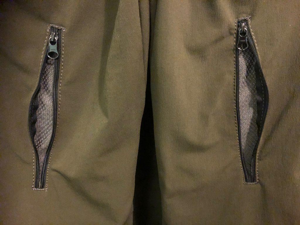 Pfanner trousers (leg zips)