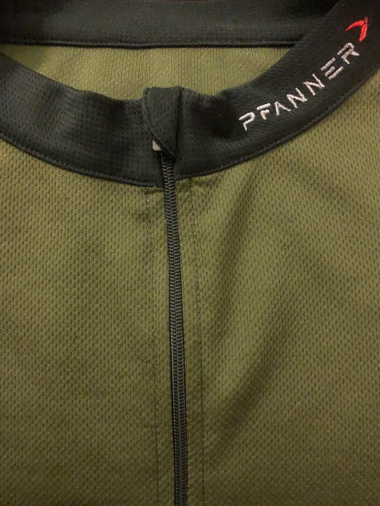 Pfanner zip neck shirt